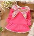 SALE PRICES!!!! 2016 Autumn Long Sleeved Baby Girls Kids Children T-shirt Tops S0966