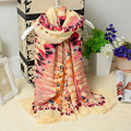 spring and summer of 2017 cotton ladies air conditioning seaside beach towel shawl sun flower feather sunscreen scarves