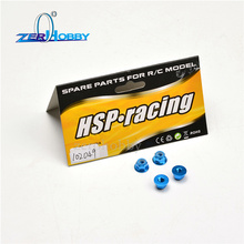 HSP 102049   Nut M4 4p  1/10 Upgrade Parts For 94102 94122 94123 94111 94108 94177 94106 94107 94188 94166 upgrade parts package for hsp rc 1 10 94111 94108 crawler car monster truck blue parts