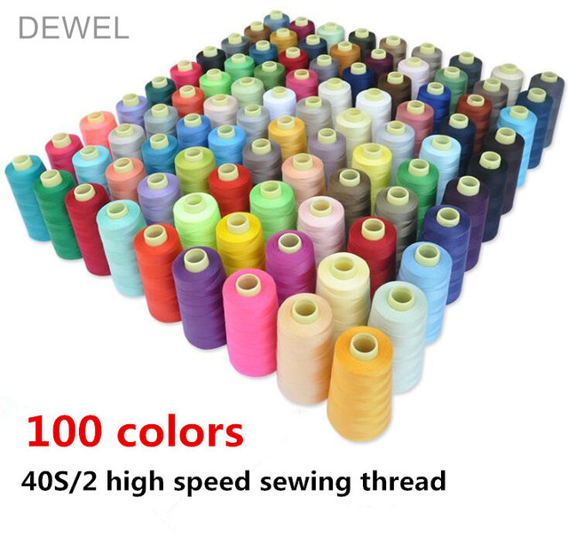 High Quality 3000 Yards Polyester Sewing Machine Line 402 Pagoda Line Fine Line High Speed Flat Sewing Machine Line
