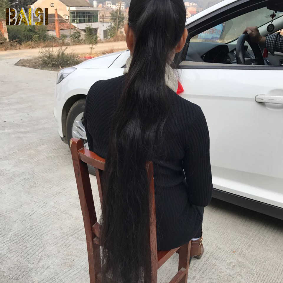 Байси завод перуанский Девы волос средства ухода за кожей волна длинные Длина 28 30 32 34 36 38 40 42 дюйм(ов) натуральные волосы расширение Бесплатная доставка
