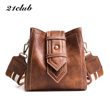 21club brand women small totes solid bucket handbag high quality lady party clutch purse new messenger crossbody shoulder bags