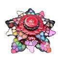 Профессиональный 35 Цветов Макияж Тени для век Палитры Вращающийся Роуз Тени Для Век Румяна Для Губ набор Женщины На Лице Косметика Make up kit
