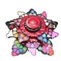 Profesional 35 Colores de Maquillaje Paleta de Sombra de Ojos Rosa Giratoria conjunto Polvo de Sombra de Ojos Blush Lip Mujeres Estética Facial Make up kit
