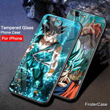 Dragon Ball iPhone Tempered Glass Cases Set 2