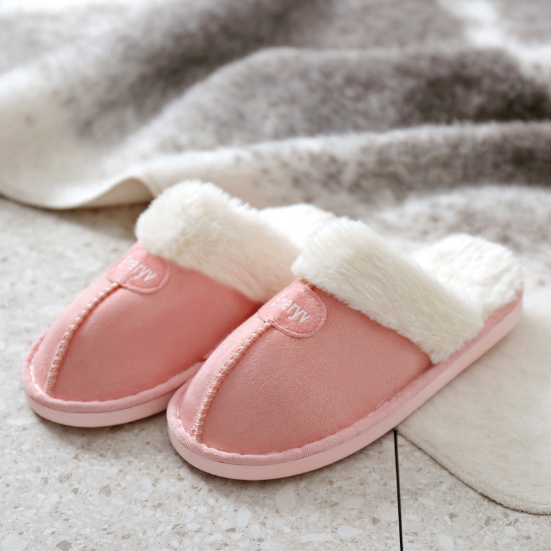 Women House Slippers Plush Winter Warm Shoes Woman Comfort Coral Fleece Memory Foam Slippers House Shoes for Indoor Outdoor Use 5