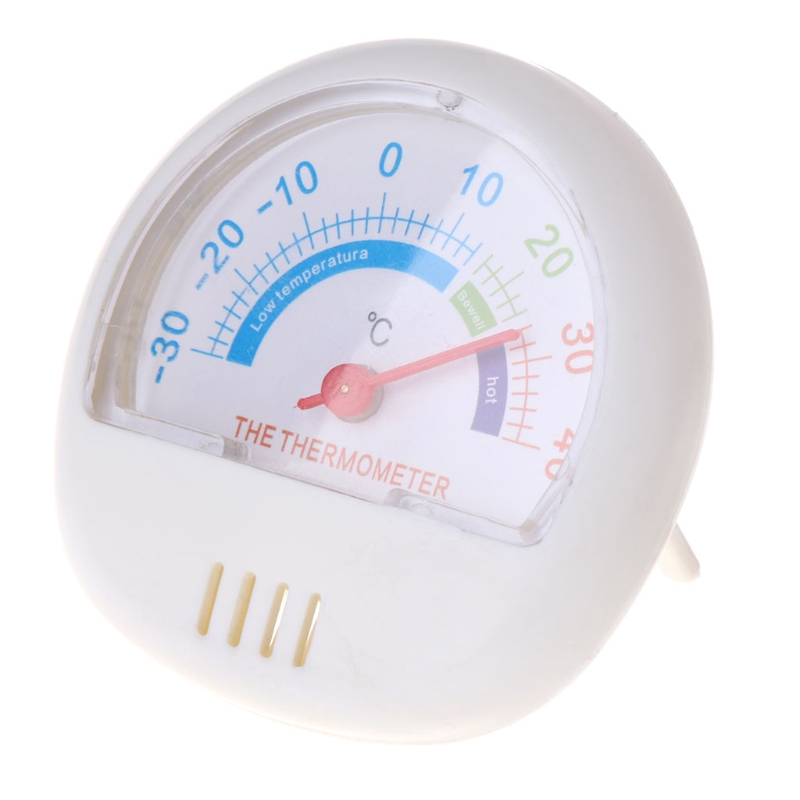 MEXI Durable Thermometer Fridge Refrigerator Freezer Indoor Outdoor Dial Temperature Gauge Home Appliance Refrigerator Parts цены