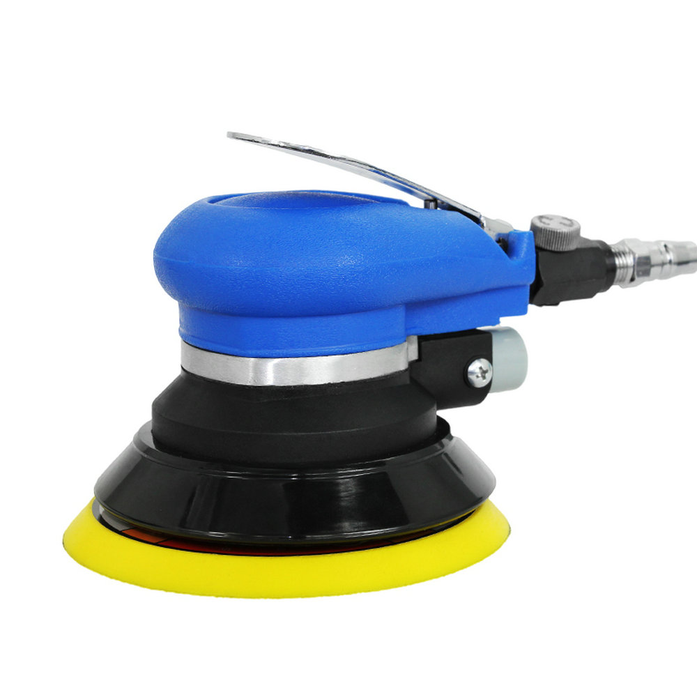 5 Inch air Sander  Grinder Pneumatic with 125mm Pneumatic Sander 5 Air Sanding Machine Pneumatic Tools Free shipping vacuum type 125mm pneumatic sanding 5 inch disc type pneumatic polishing machine sand machine bd0128