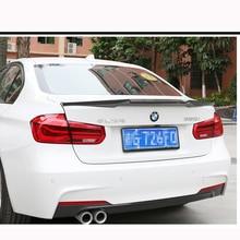 F30 M4 Style Spoiler Carbon Fiber Rear Trunk Back Wing For BMW 3 Series F80 M3 2012 - 2017 4-Door Sedan  316i 318i 320i 328i