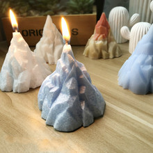 Iceberg 3D Design Silicone Cake Candle Making Mould for Home DIY