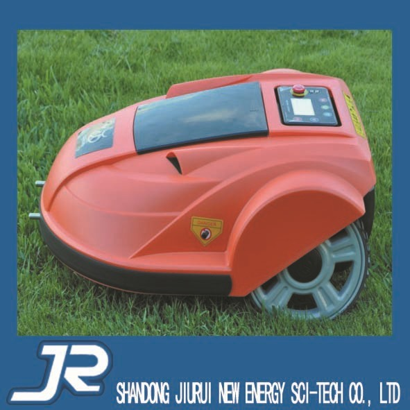 auto  new color  robot   grass cutter