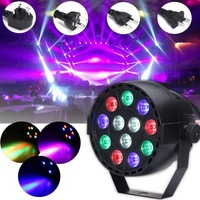30W RGBW LED Stage Light DMX Voice Remote Control LED Stage Lighting Effect Laser Lamp For