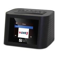 цена на Ocean Digital WR-828F  Multi-function WIFI Internet WIFI Radio Dual Alarm Clock USB Radio Digital Radio
