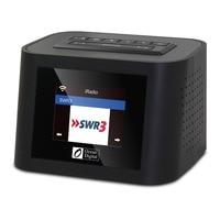 WiFi+FM+UPnP Radio Ocean Digital WR 828F Internet Radio Multi language Menu USB 5V output for charging Alarm Clock Remote