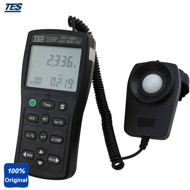 Delightful TES 1339R Digital LUX Light Meter Accurate And Instant Response Luminous  Intensity Measurement Data Logger Pictures Gallery