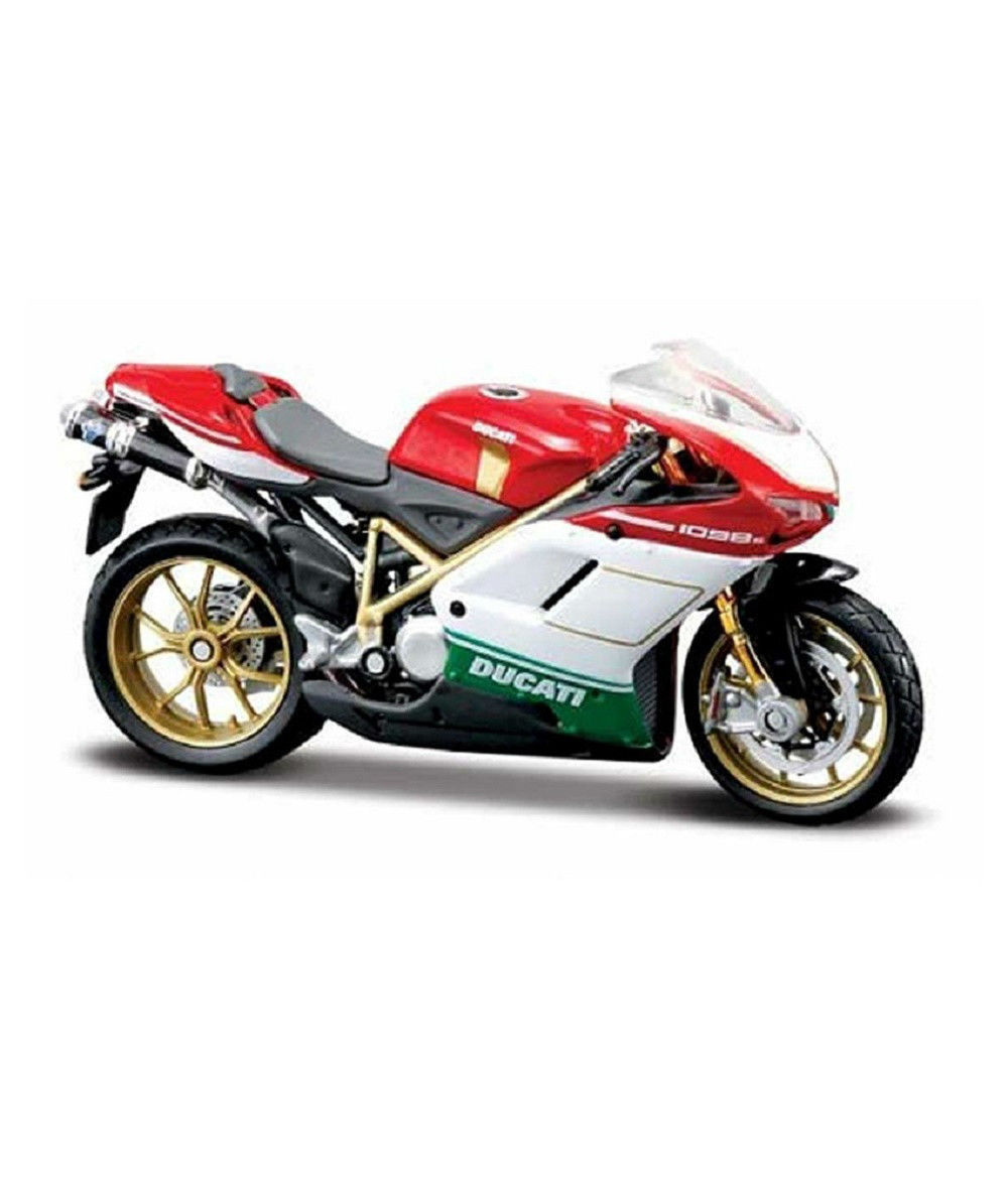 Maisto 1:18 Ducati 1098S MOTORCYCLE BIKE DIECAST MODEL TOY NEW IN BOX|Diecasts & Toy Vehicles| |  - title=
