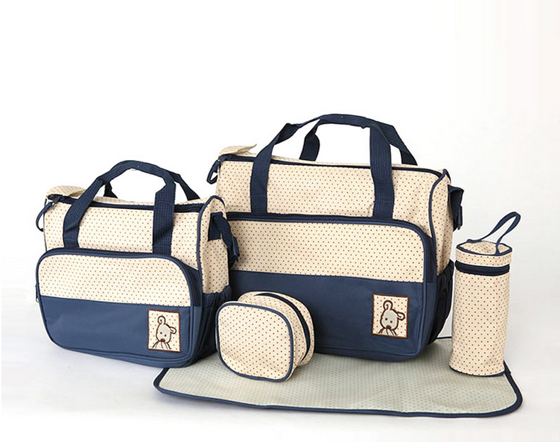 Five-one Fashion High Quality Mummy Bag Diaper Bag For Out Staying #O008#