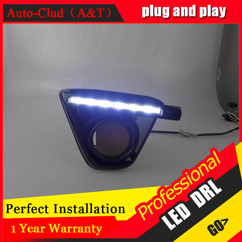 Auto Clud car styling For Mazda CX-5 LED DRL For CX-5 led fog lamps daytime running light High brightness guide LED DRL A style