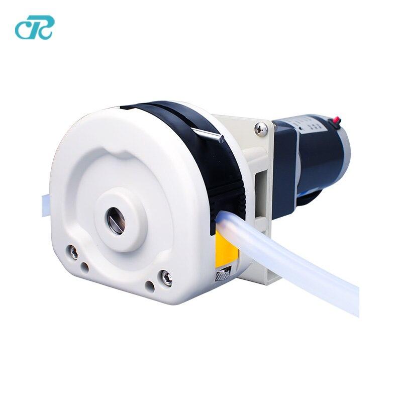 6L per min Peristaltic tubing Pump for milk vending machine peristaltic pump v6 dispensing 2 channel 2 yz2515x 0 007 1740 ml min per channel ce certification one year warranty