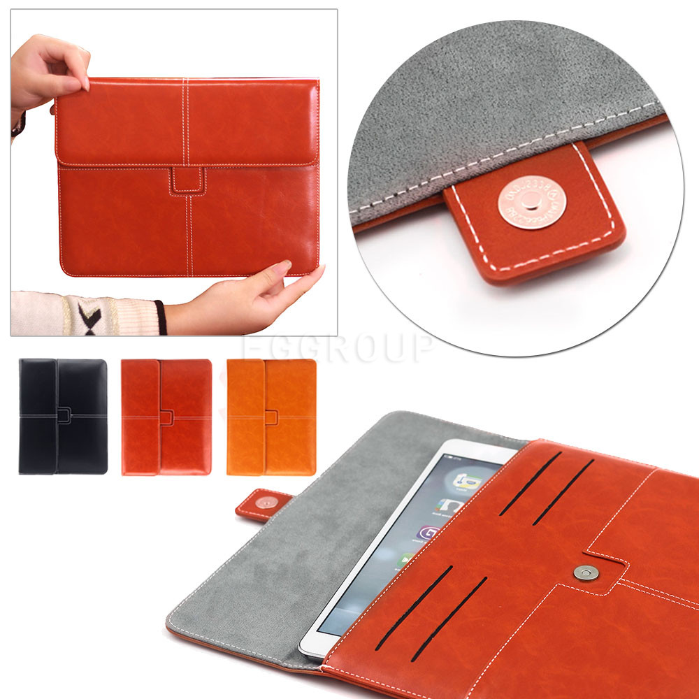 Universal 9-10 High Quality PU Leather Tablet Smart Case Cover Ultra Slim For APPle iPad mini 1 2 3 for samsung tablet PC bags