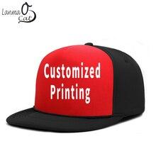 Lanmaocat индивидуальные кепки Bboy с принтом Snapback шляпа с логотипом, рисунком по индивидуальному заказу хип-хоп кепка для мужчин и женщин простой клевый хип-хоп шляпа