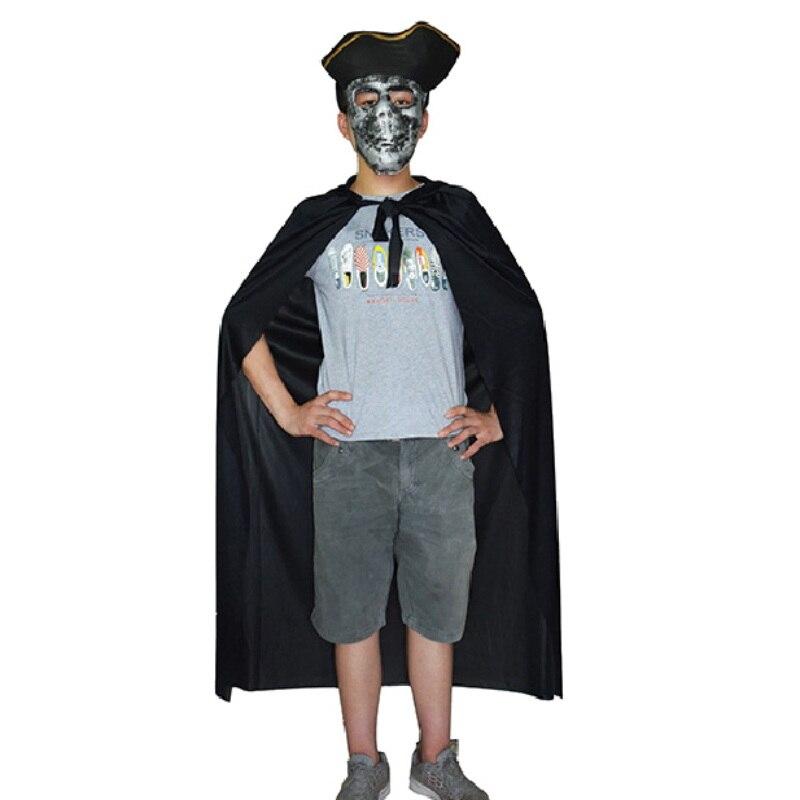 Hoodies Cloak Red Black Unisex Adult And Children Halloween Costume Wizards Vampire Death Pirate Cosplay Funny Disfraz Infantil