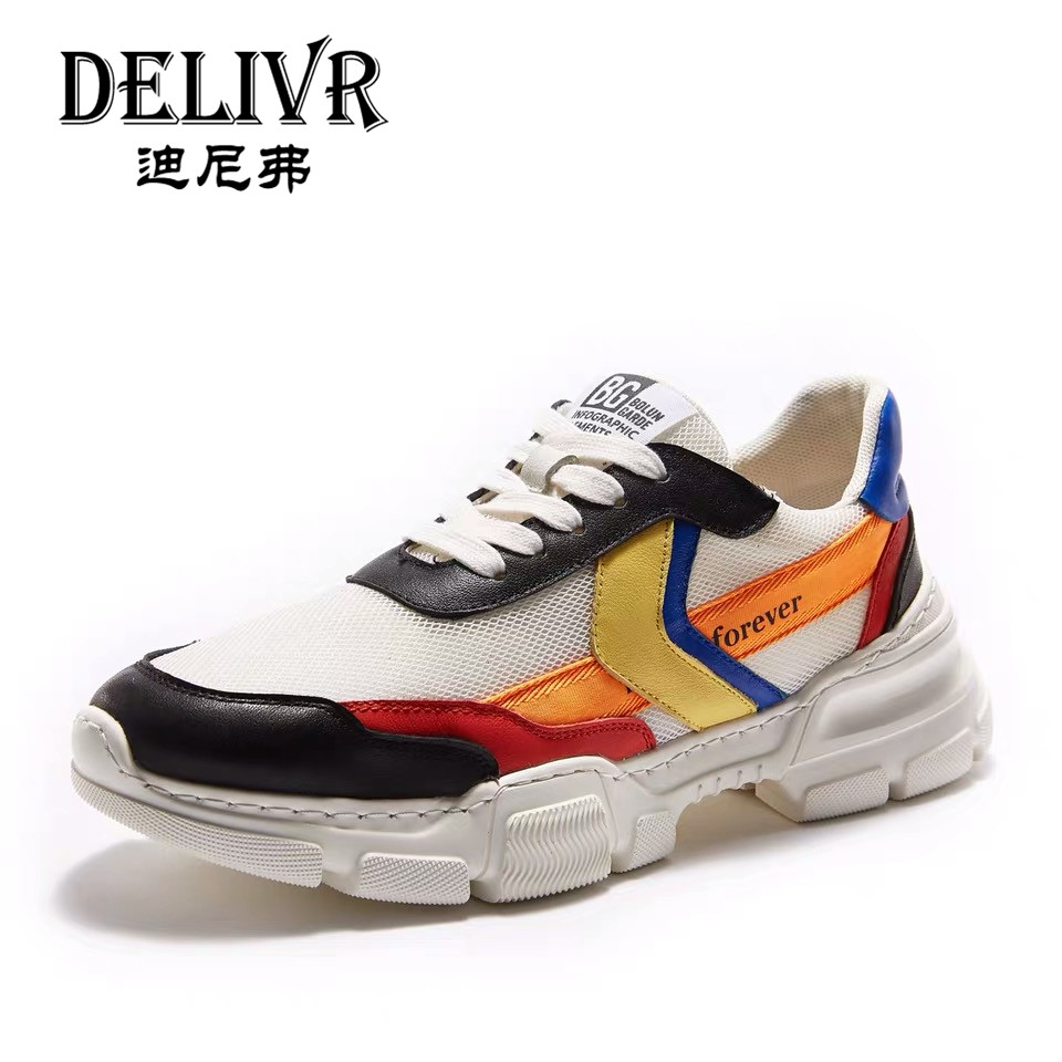 Delivr Sneakers Men Shoes Casual 2019 New Arrival Fashion White Platform Vulcanized Shoes Men Shoes Genuine Leather Sneakers MenDelivr Sneakers Men Shoes Casual 2019 New Arrival Fashion White Platform Vulcanized Shoes Men Shoes Genuine Leather Sneakers Men