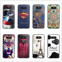 For LG G5 Case Silicon 5 3 Inch 3D Cover Slim Cartoon Cute Soft Relief Coque