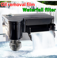 ATMAN HK series fish tank hanging type filter Waterfall type oil removal membrane filter for aquarium Floating deoiling