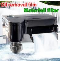 ATMAN HK series fish tank hanging type filter Waterfall type oil removal membrane filter for aquarium Floating deoiling