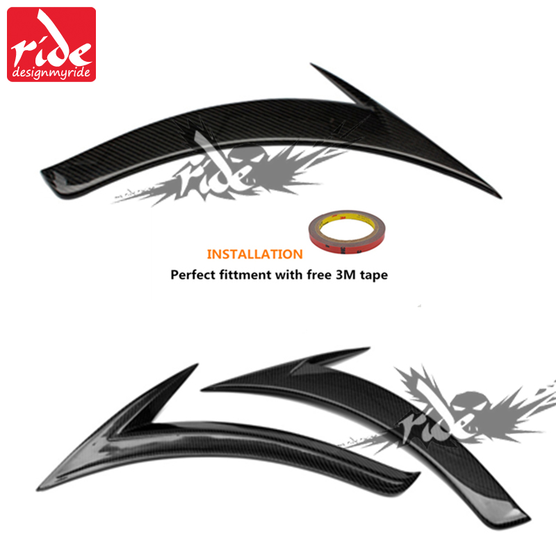 for Mercedes A Class W176 Fender Trim Carbon Fiber Side Fender Trim For Benz A Class A180 A200 A250 A45 AMG Fender Trim 2012 18 in Bumpers from Automobiles Motorcycles