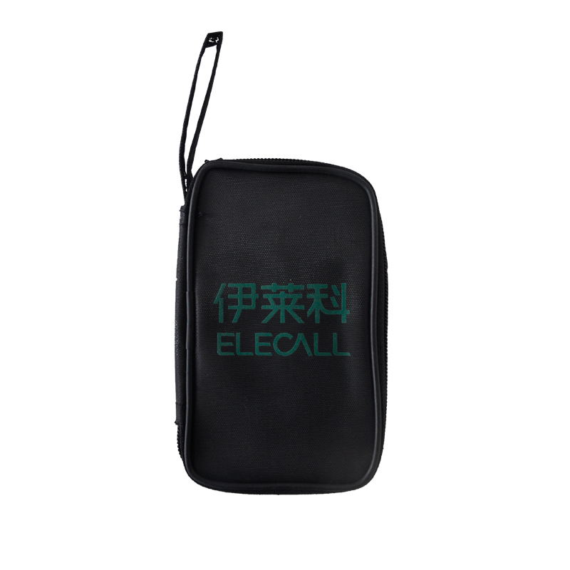 ELECALL tool bag for digital multimeter tool kit ELE-B01 black multi-purpose tool bag nylon pouch