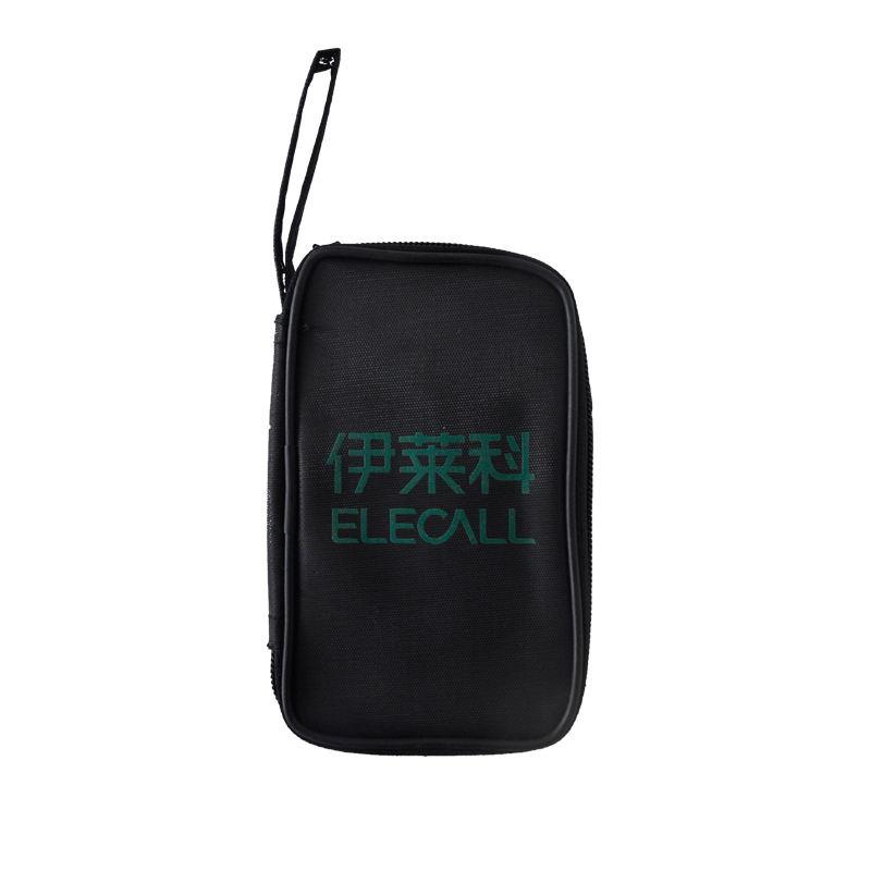 ELECALL tool bag for digital multimeter tool kit ELE-B01 black multi-purpose tool bag nylon pouch mono efx producer bag black versatile tool kit for digital creators