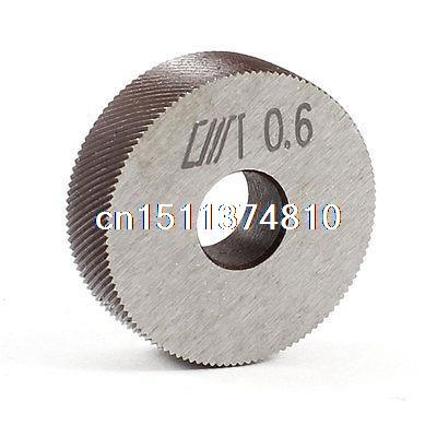 26mm x 8mm x 8mm Diagonal Coarse 0.6mm Pitch Linear Knurl Wheel Knurling Tool