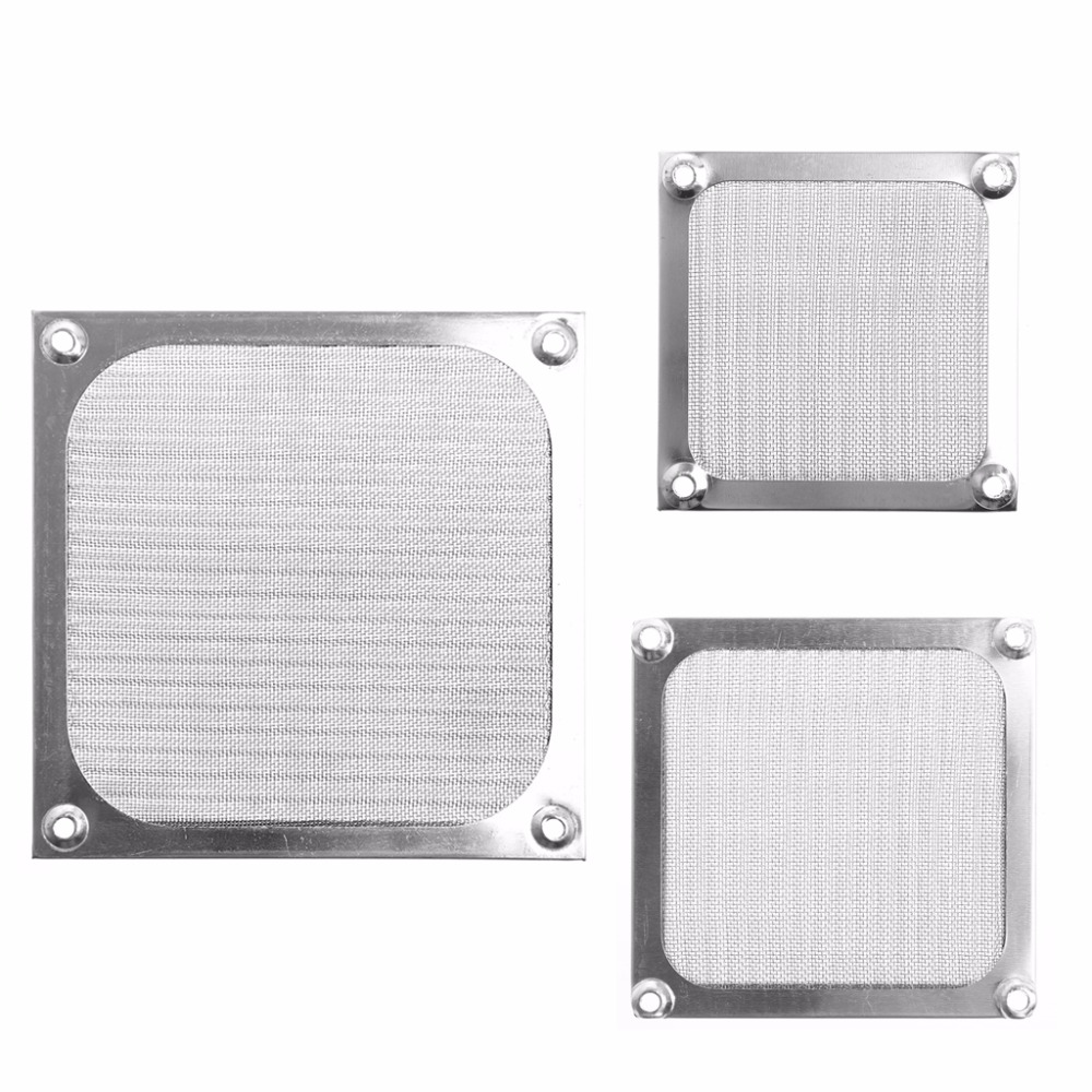 Metal Dustproof Mesh Dust Filter Net Guard 12cm/9cm/8cm For PC Computer Case Cooling Fan New Drop shipping-PC Friend dustproof 120mm 1pcs 2pcs 5pcs case fan dust filter guard grill protector cover plastic pc computer cooling net