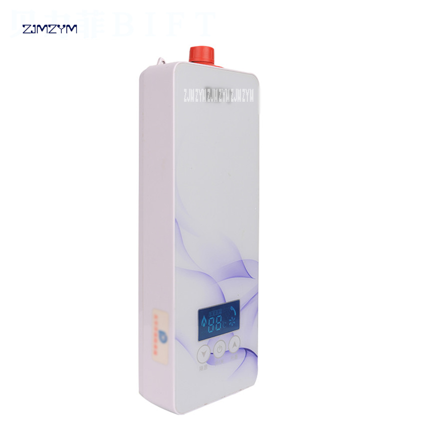 5500W Instantaneous Water Heater Tap electric Water Heater Instant shower thermostat BK403A microcomputer type Control 220V цены