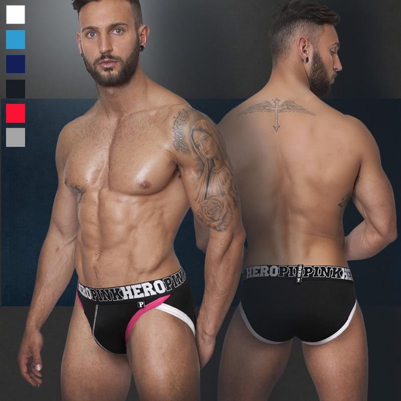 2015 New high-hip men s cotton brief short pants stretched cotton pants  high quality men s a490f7135