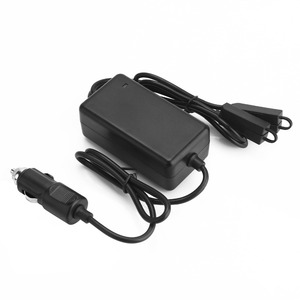 Image 2 - YX 1 to 2 Car Charger For DJI Mavic 2 Pro Zoom Drone Battery with 2 Battery Fast Charging Travel Transport Outdoor Charger