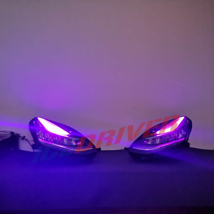 icedriver for Tesla Model 3 DRL RGB multicolor LED boards daytime running lights Demon Eye Devil Eye lighting module headlights in Car Light Accessories from Automobiles Motorcycles