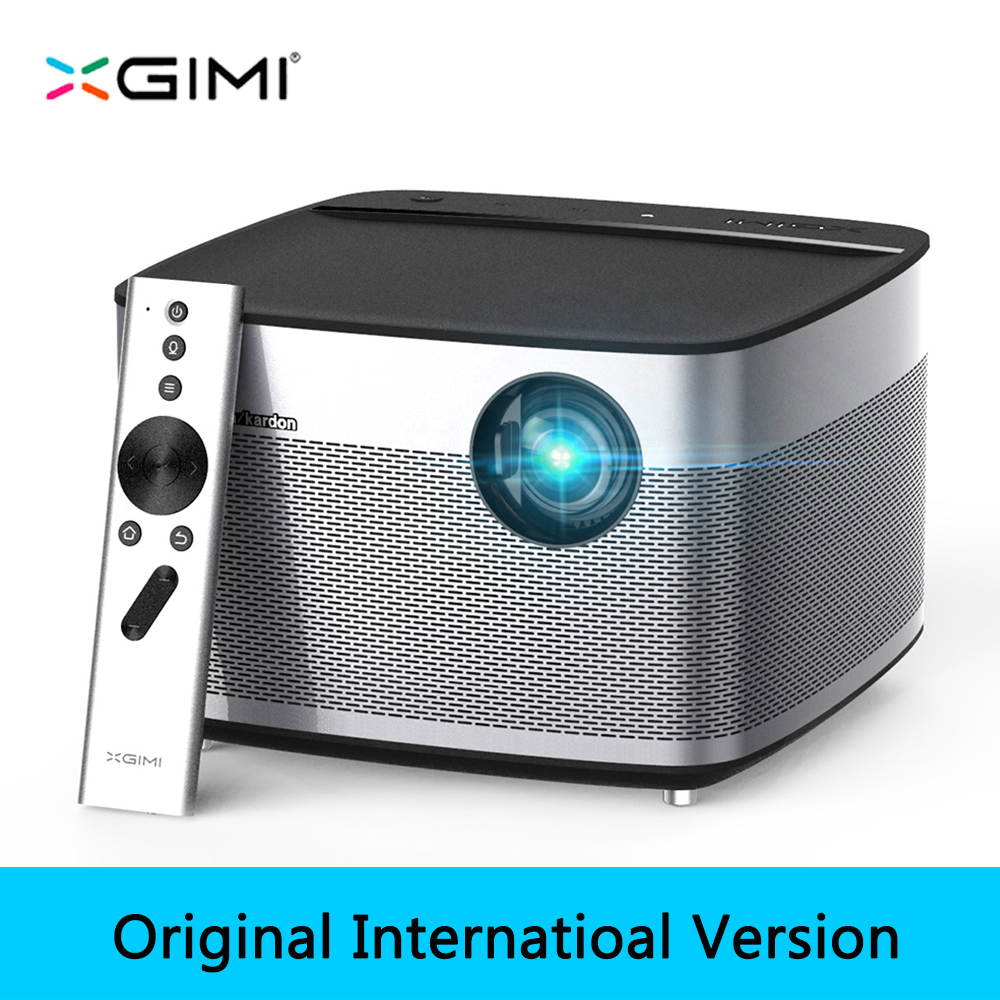XGIMI H1 DLP proyector Full HD 1080 p 900 Ansi 3D apoyo 4 K vídeo proyector Android Wifi Bluetooth Home teatro Beamer HDMI USB