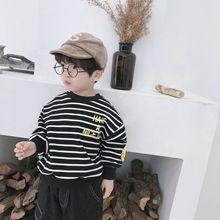 2018 на осень-зиму, Корейская версия детской пуговицы, Детская футболка