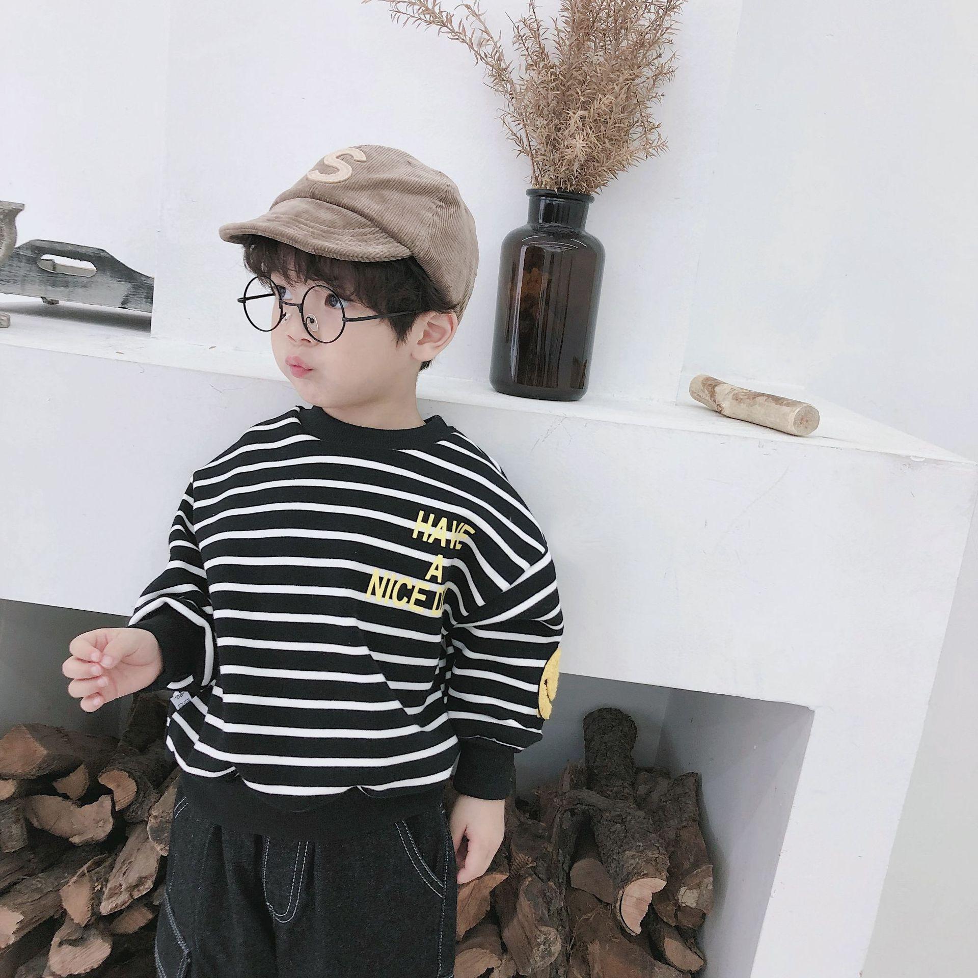 2018 herbst winter, Koreanische version von kinder schließen, kinder T-shirt