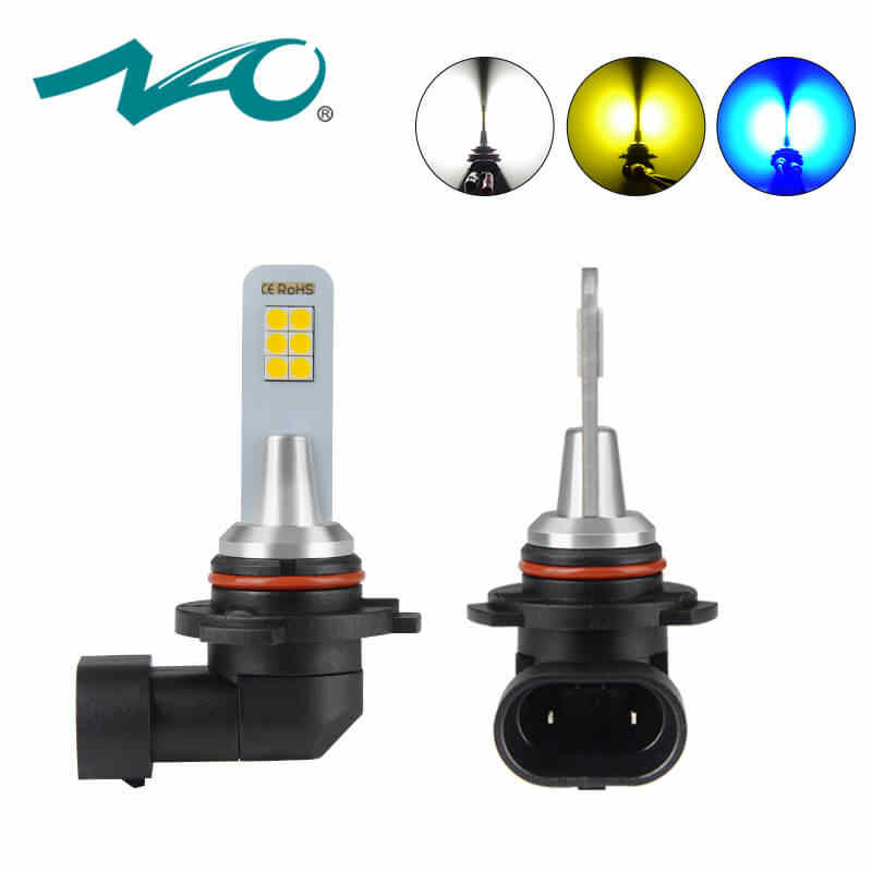 NAO H11 LED car Light H3 H16 H8 PSX26W motorcycle car accessories hb4 12V H10 hb3 9005 9006 automobiles h9 auto blue Gold