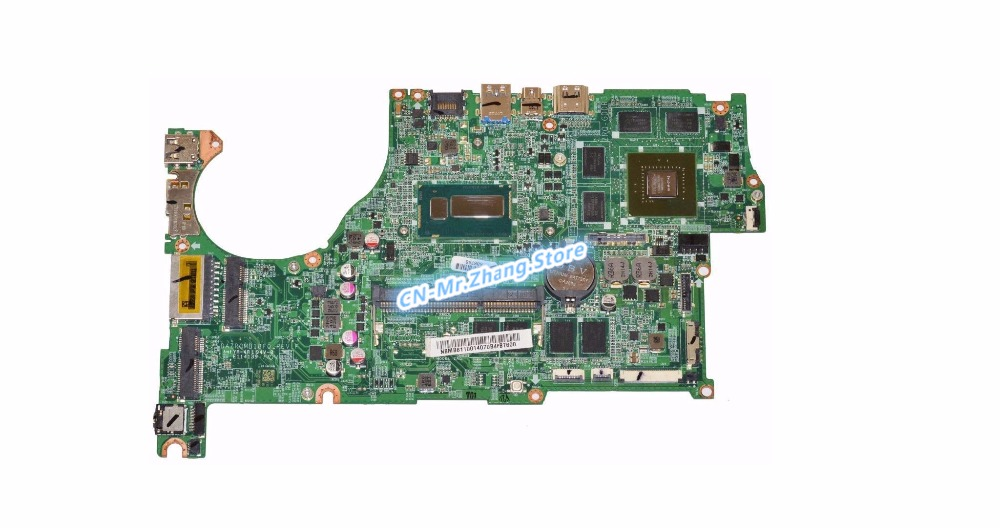 SHELI FOR font b Acer b font Aspire V5 573 V7 482 Laptop Motherboard W I7