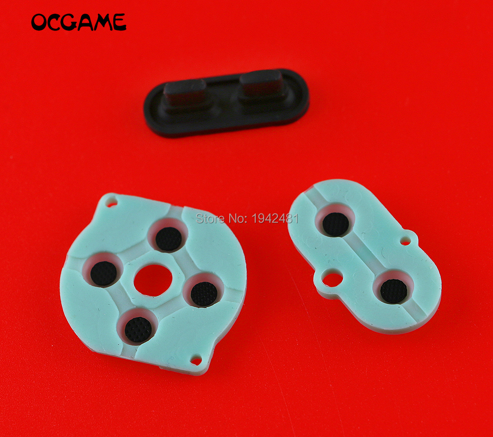 OCGAME 5sets/lot Conductive Rubber Pad Set For GameBoy Color GBC Button D-Pad A B Start Button image