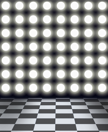 8x12ft round spot light wall black white mosaic tiles checkers floor custom photography backdrops studio background vinyl 10x20 in background from consumer