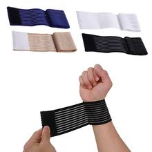 OOTDTY Elastic Palm Wrap Wrist Hand Brace Support Sleeve Band Sports Gym Traning Guard  wrap