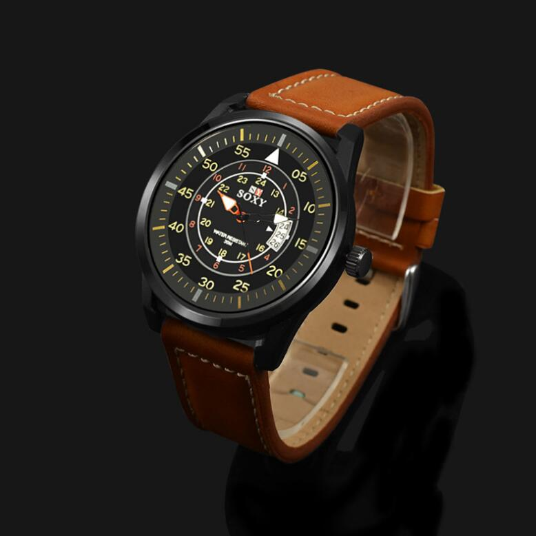 calendario de hombres reloj de cuarzo relojes masculinos Relojes de - Relojes para hombres - foto 4