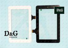 V701s v711s quad core tablet tela touch screen onda capacitância tela de toque