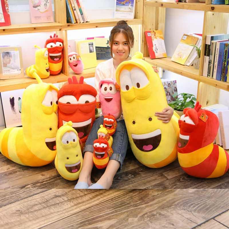 Прямая сделка смешная ошибка гигантский плюшевый Кукла личинка подушка мультфильм аниме-игрушка для маленьких детей успокаивание сна кукольный наряд в качестве подарка на день рождения, подарок на Рождество